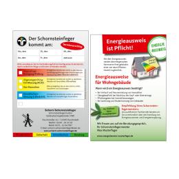 Anmeldezettel Rückseite mit Info Energieausweis