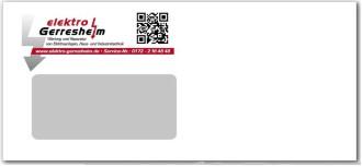 Briefumschlag DINlang für Handwerker
