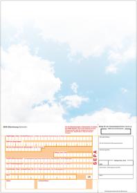 SEPA Rechnungen/Zahlscheine für Schornsteinfeger
