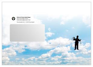 Briefumschläge DIN C5 für Schornsteinfeger