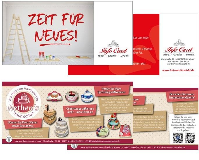 InfoCard Ihr Partner für Branchendrucksachen - Flyer