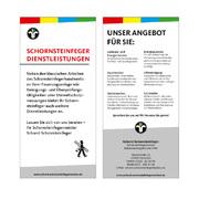 Schornsteinfger Flyer Dienstleistungen